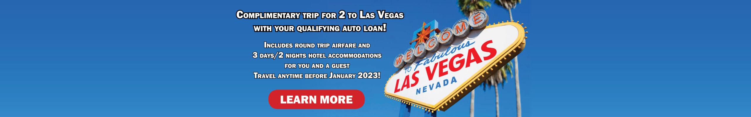 Vegas Auto Loan Promo