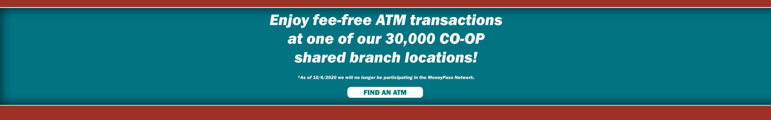 CO-OP ATMs