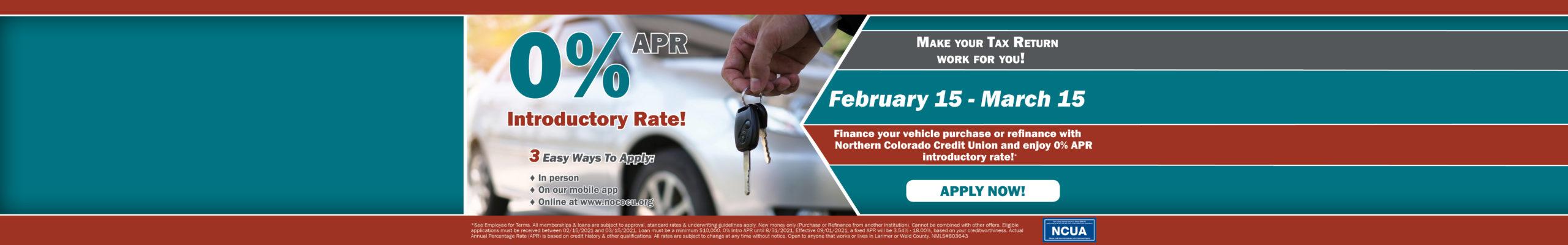 0% Auto Loan